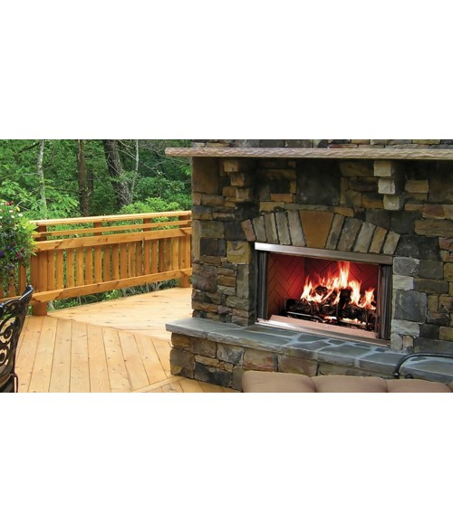 "Majestic Montana Outdoor Wood Burning Fireplace (36"" or 42"")"