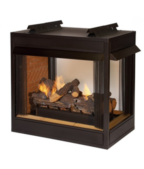 Empire Breckenridge Vent-free Peninsula Premium Firebox - 36""