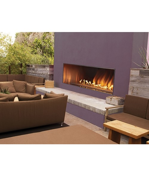 "Empire Carol Rose Outdoor Vent-free Linear Fireplace (48"" or 60"")"