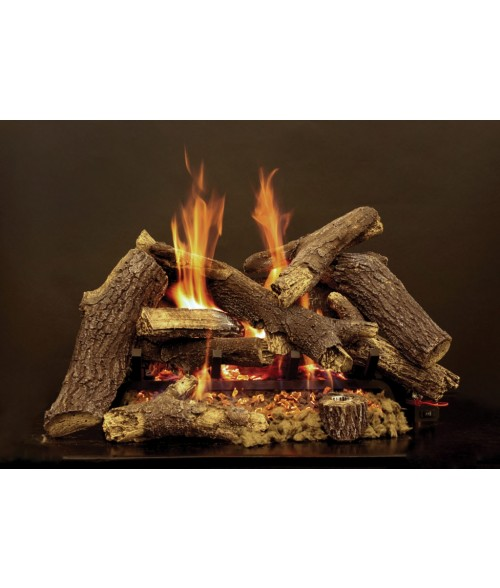 Empire Pioneer Vented Gas Log Set with Elite Radiant Burner