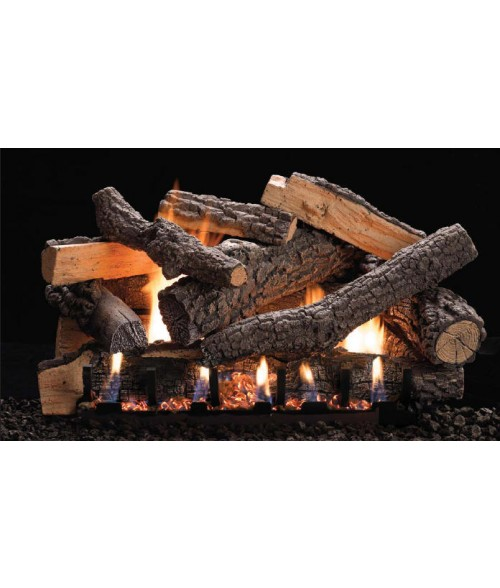 Empire Ponderosa Vent-Free Gas Log Set with Slope Glaze Burner