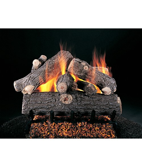 Rasmussen Prestige Oak Vented Gas Log Set w/ CXF Burner