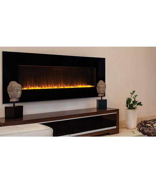 "Superior Electric 54"" Wall Mount Fireplace"
