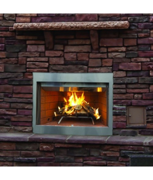 "Superior WRE3000 Outdoor Wood Burning Fireplace (36"" or 42"")"