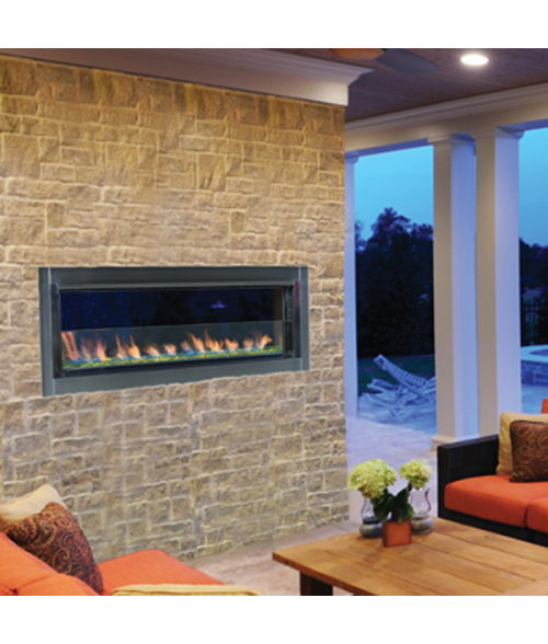 Superior VRE4543 Outdoor Linear Fireplace