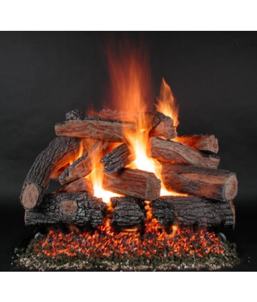 Rasmussen TimberFire Vented Gas Log Set w/ LC Burner