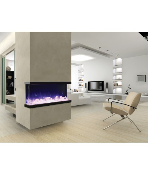 Amantii TRU-View Multiple Sided Electric Fireplace - 50""