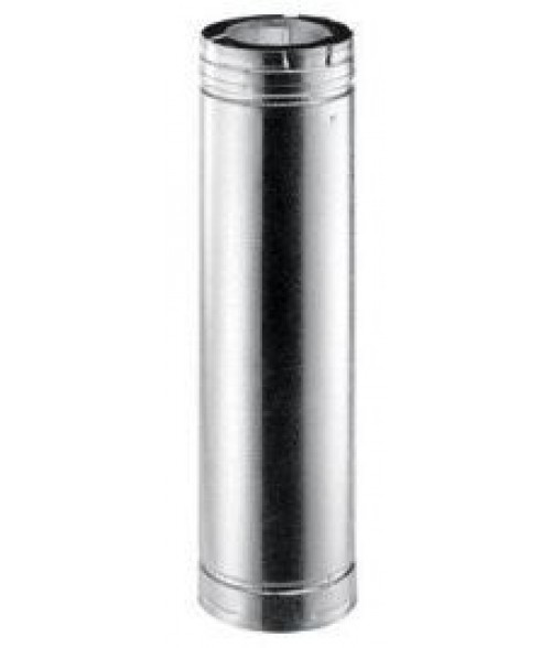 Monessen Vent Pipe for SLP Direct Vent Piping System - Black