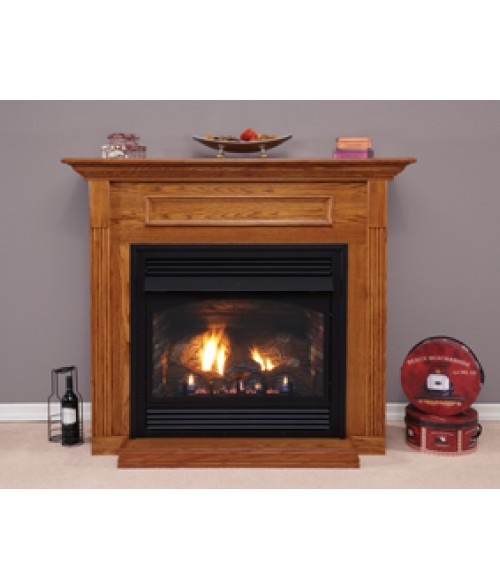 "Empire Vail Vent-Free 36"" Premium Gas Fireplace w/ Logs"