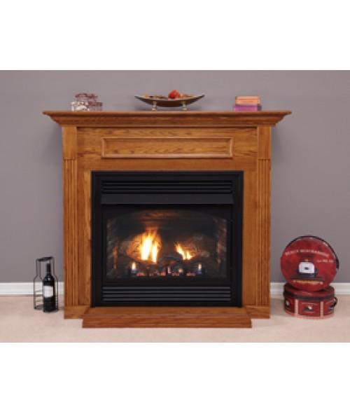 "Empire Vail Vent-Free 36"" Premium Gas Fireplace w/ Logs"