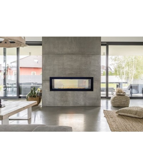 Empire Boulevard Series Vent Free Linear See-Thru Fireplace - 48""