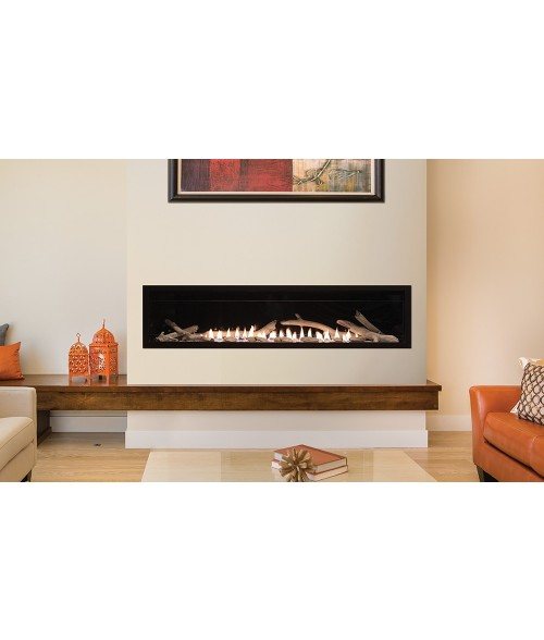 "Empire Boulevard 60"" Vent-Free Linear Gas Fireplace"