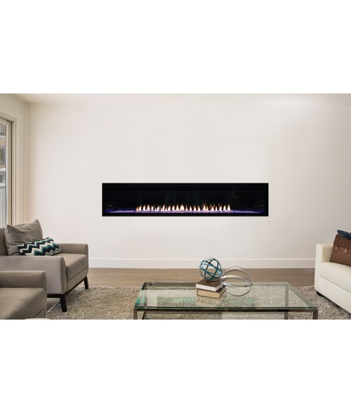 "Empire Boulevard 72"" Vent-Free Linear Gas Fireplace"