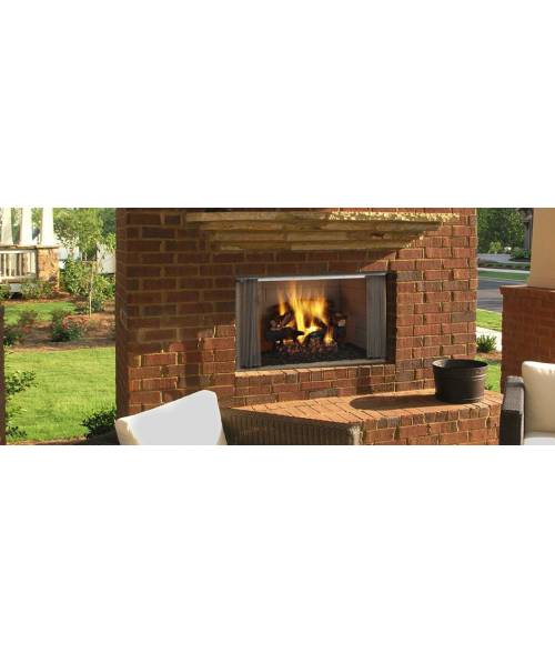 "Majestic Villawood Outdoor Wood Burning Fireplace (36"" or 42"")"