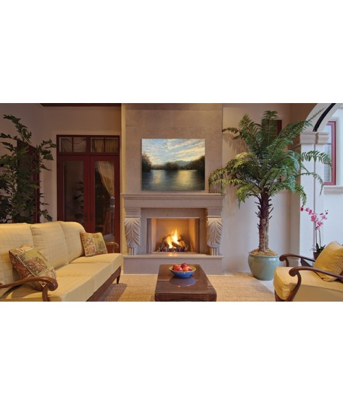 """Superior VRE4300 Outdoor Vent-Free Fireplace w/ Gas Logs (36"""" or 42"""")"""
