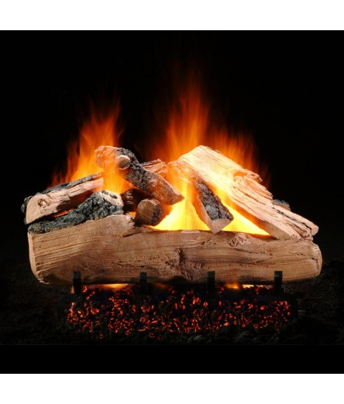 Hargrove Western Pine Vented Gas Log Set with Burner