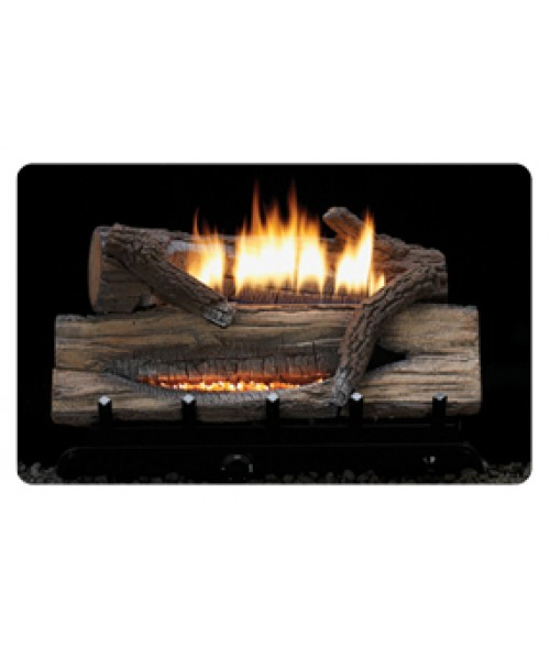 Empire Whiskey River Vent-Free Gas Logs with ANSI-Certified Burner