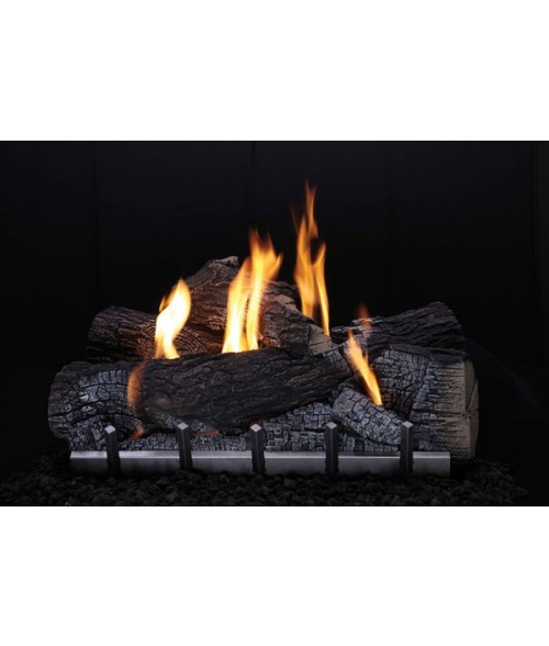 Empire Wildwood OUTDOOR Gas Log Set With Vent-free Harmony Burner