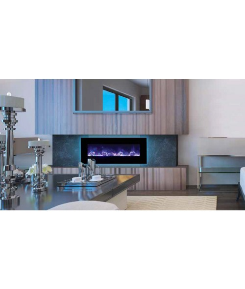 "Amantii 48"" Wall Mount/Flush Mount Electric Fireplace"