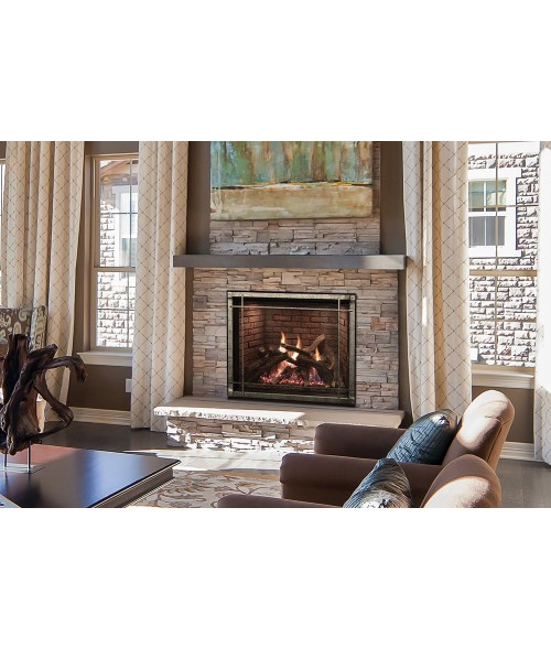 "Empire Rushmore Clean Face Direct-Vent Fireplace with TruFlame Technology (36"" or 40"")"